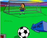 Football shootout online j�t�k